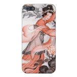El iPhone de encargo oriental de la mujer y de las iPhone 5 Cárcasa