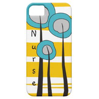 El iPhone de la enfermera encajona caprichoso iPhone 5 Fundas