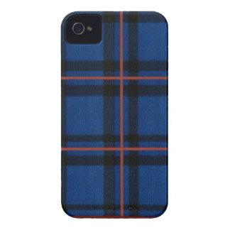 El iPhone de la tela escocesa de tartán de Elliot Case-Mate iPhone 4 Cobertura