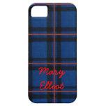 El iPhone de la tela escocesa de tartán de Elliot  iPhone 5 Carcasa