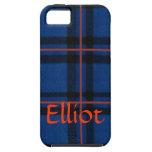 El iPhone de la tela escocesa de tartán de Elliot  iPhone 5 Case-Mate Carcasa