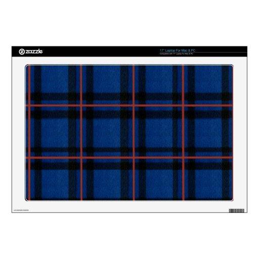 El iPhone de la tela escocesa de tartán de Elliot  Portátil Calcomanías