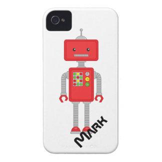 El iPhone del robot encajona el regalo de los Carcasa Para iPhone 4