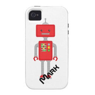 El iPhone del robot encajona el regalo de los Funda Case-Mate Para iPhone 4