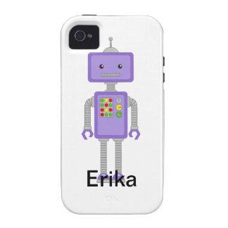 El iPhone del robot encajona el regalo de los Funda Para iPhone 4