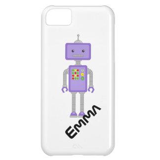 El iPhone del robot encajona el regalo de los robo Funda iPhone 5C