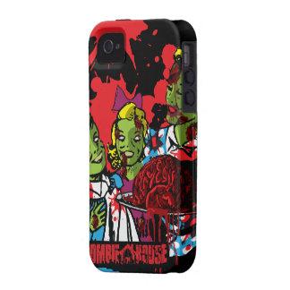 El iPhone del zombi 4 zombis del caso come Case-Mate iPhone 4 Carcasas