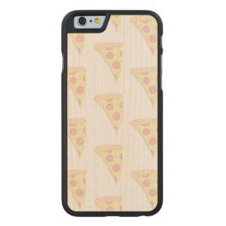El iPhone DESCOLORADO 6/6s de la PIZZA adelgaza el Funda De iPhone 6 Carved® Slim De Arce