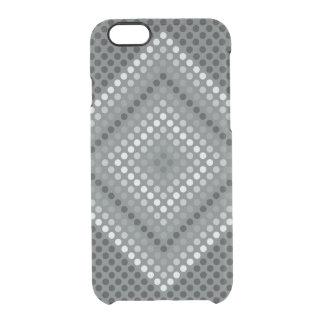 El iPhone oscuro 6/6S del diamante despeja el caso Funda Clearly™ Deflector Para iPhone 6 De Uncommon