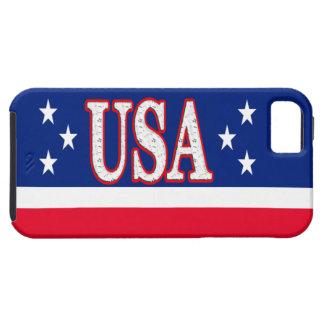 El iPhone patriótico 5S encajona las cubiertas del iPhone 5 Fundas