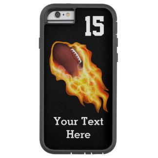 El iPhone personalizado 6 del fútbol encajona el Funda De iPhone 6 Tough Xtreme