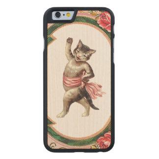 El iPhone REBELDE RETRO 5/5S del cabaret del Funda De iPhone 6 Carved® De Arce