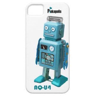 ¡El iphone retro 5 del robot AQ-U4 está vivo! iPhone 5 Case-Mate Fundas