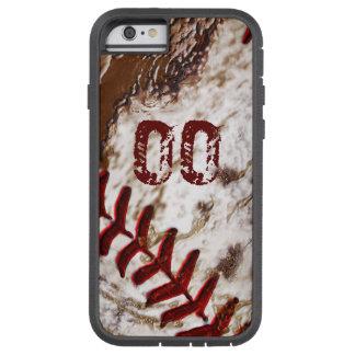 El iPhone sucio estupendo 6 del béisbol encajona Funda Para iPhone 6 Tough Xtreme