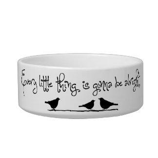 El ir a estar bien tazones para gatos