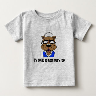 El ir a la camiseta de las abuelas también