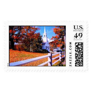 El ir a la capilla del amor timbre postal