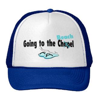 El ir a la capilla (playa) 1 gorras de camionero