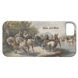 El ir a la feria de caballo - personalice iPhone 5 Case-Mate carcasa