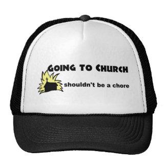 El ir a la iglesia no debe ser un cristiano de la  gorras de camionero
