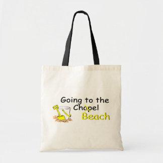 El ir a la playa (cubo) bolsas de mano