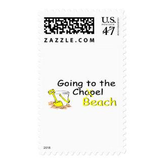 El ir a la playa (cubo) sellos