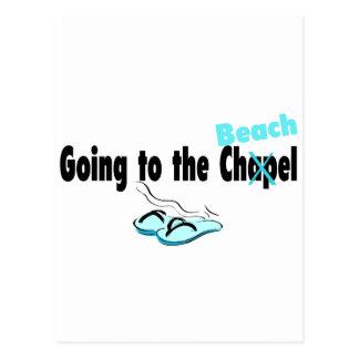 El ir a la playa postales