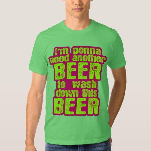 El ir a necesitar otra cerveza polera