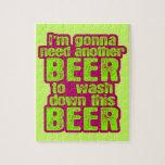 El ir a necesitar otra cerveza puzzles con fotos