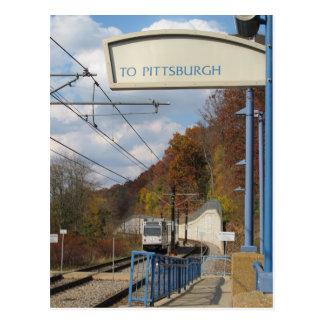 ¿El ir a Pittsburgh? Postal