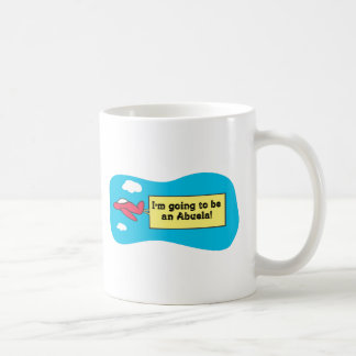 ¡El ir a ser un Abuela! Tazas De Café