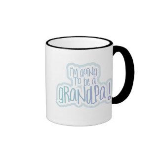 El ir a ser un abuelo taza de dos colores