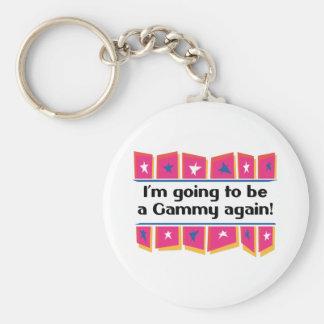 ¡El ir a ser un Gammy otra vez! Llavero Redondo Tipo Pin