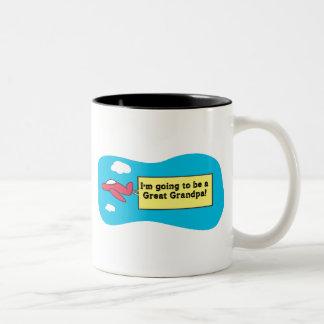 ¡El ir a ser un gran abuelo! Taza De Café