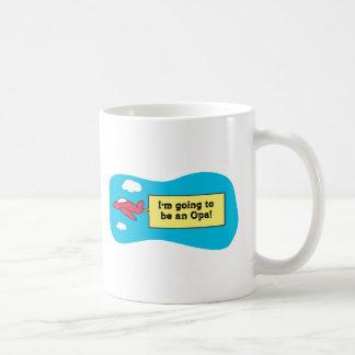 ¡El ir a ser un Opa! Tazas De Café