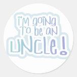 El ir a ser un tío Tshirts y regalos Pegatina