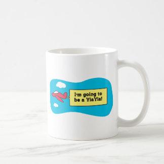 ¡El ir a ser un YiaYia! Taza De Café