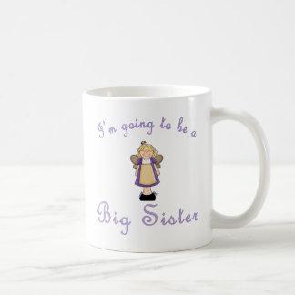 El ir a ser una hermana grande taza
