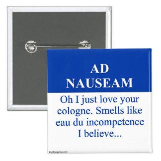 El ir en el anuncio Nauseam (3) Pin