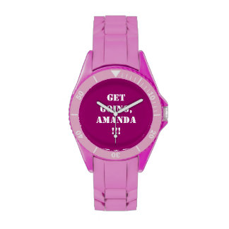 ¡El ir Get personalizable Relojes