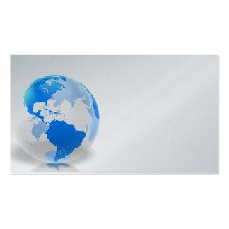El ir global tarjetas de visita