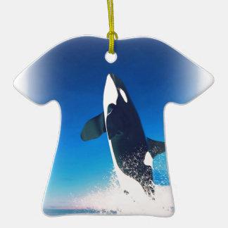 El ir para la orca de la infracción adorno de navidad