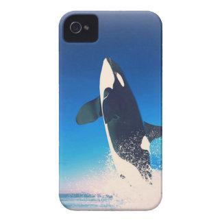 El ir para la orca de la infracción iPhone 4 protector
