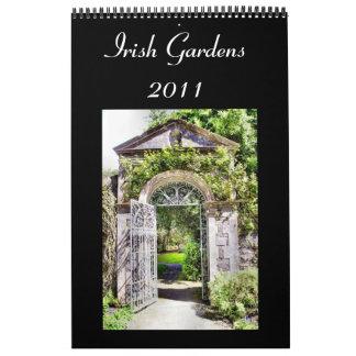 El irlandés cultiva un huerto el calendario 2011