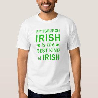 El irlandés de Pittsburgh es la mejor clase de Remera
