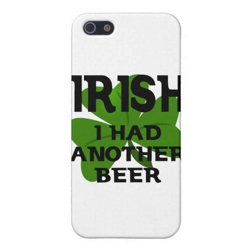 El irlandés I comía otra cerveza iPhone 5 Coberturas