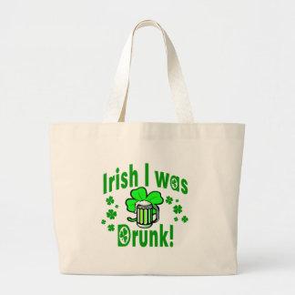 El irlandés I era /1 borracho Bolsa Tela Grande