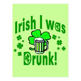 El irlandés I era /1 borracho Postales