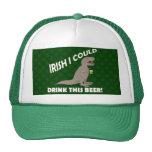 El irlandés I podría beber esta cerveza, T-Rex div Gorro De Camionero