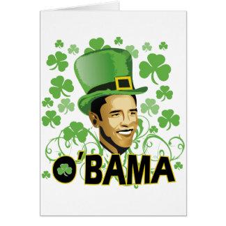 El irlandés O'Bama 2009 de St Patrick Tarjetón